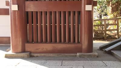 鎌倉市ファントムE 龍口寺 仁王門1222.jpg
